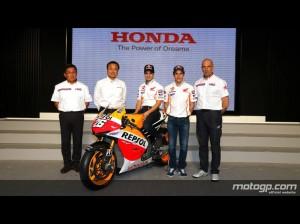 Marquez-Pedrosa coppia Honda