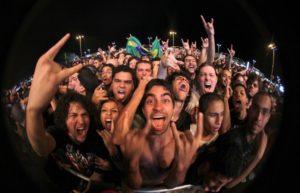 Fan heavy metal in delirio