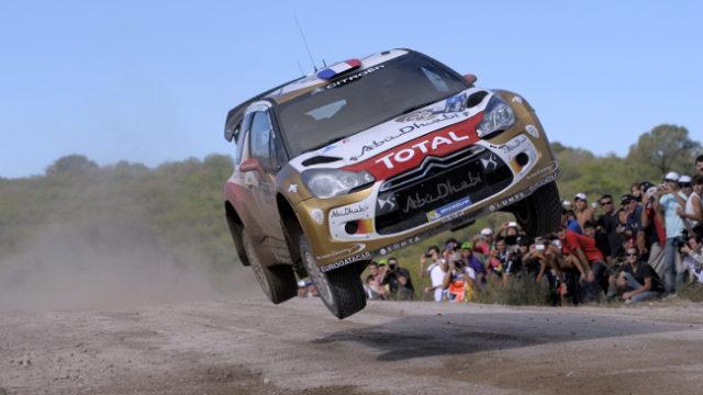 Loeb Vola verso la vittoria in Argentina