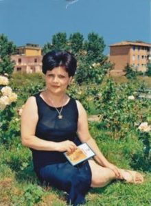 La poetessa Tina Piccolo