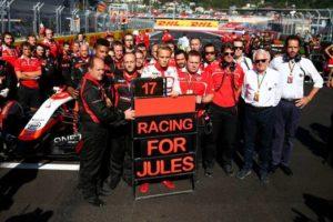 Il Team Marussia ha corso con una sola vettura, mostra tutto il suo supporto per Jules Bianchi