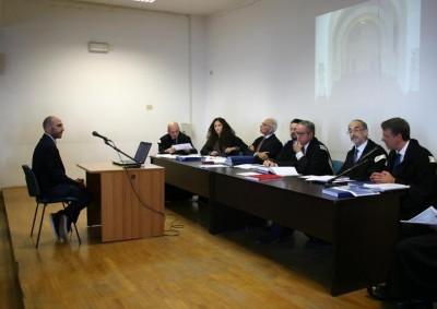 La discussione di Antonio Semola con il suo relatore Raffaele Cantone