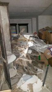rifiuti galleria Umberto I