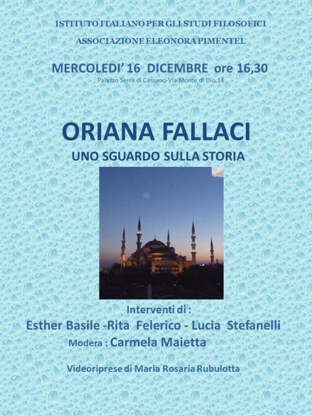 Oriana Fallaci, uno sguardo sulla storia