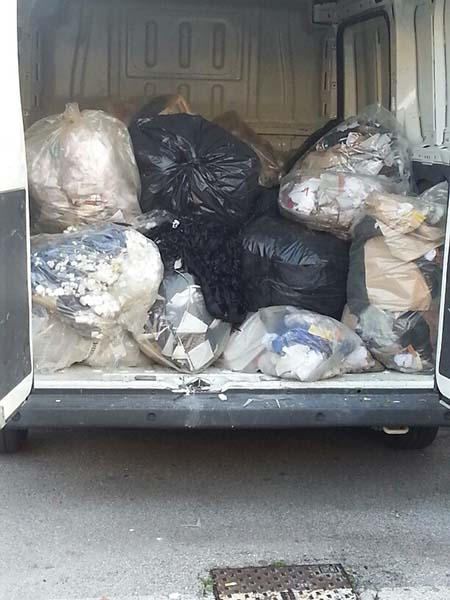 rimozione rifiuti