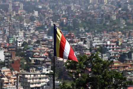 Katmandu - Panorama città