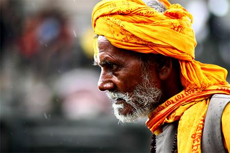 Sadhu errante