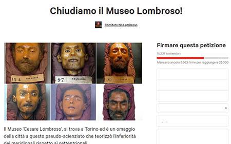 Chiudiamo il Museo Lombroso