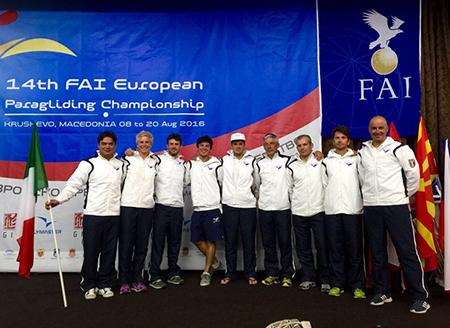 Nazionale Italiana 14th European Paragliding Championship