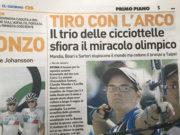 Tiro con l'arco _ il trio delle cicciottele sfiora il miracolo olimpico