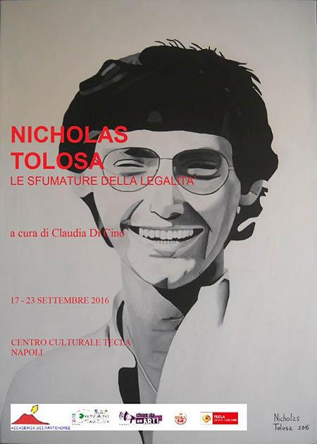 'Le sfumature della legalità', mostra di Nicholas Tolosa