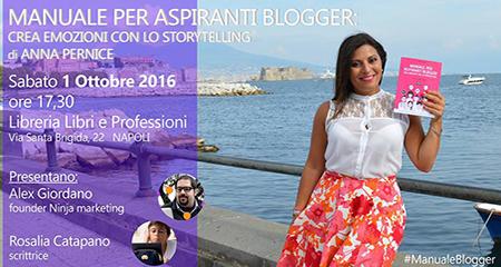 Manuale per aspiranti blogger, Anna Pernice