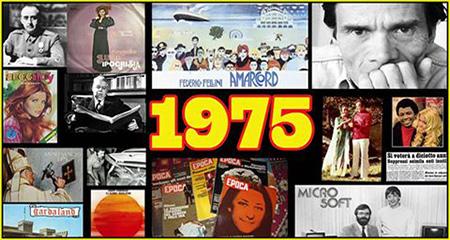 Sono solo canzonette: 1975