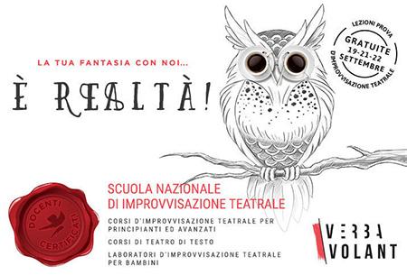 Verbavolant Scuola Nazionale d'Improvvisazione Teatrale
