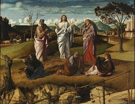 Giovanni Bellini Trasfigurazione