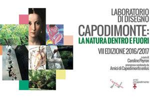Laboratorio di disegno di Caroline Peyron a Capodimonte