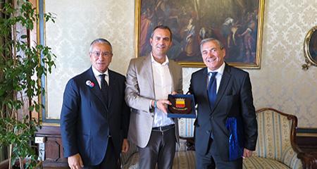 Luigi de Magistris, Maurizio Di Stefano, Fernando Ayala