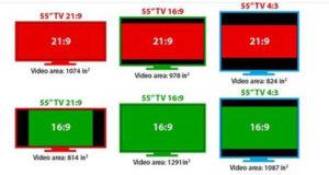Proporzioni in base al video