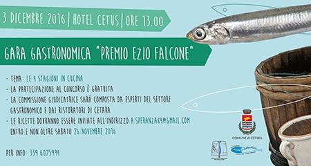 Cetara, V edizione Premio gastronomico Ezio Falcone