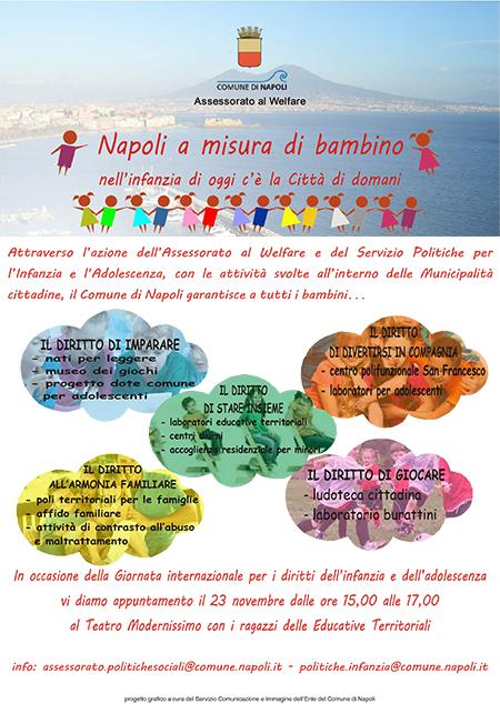 Napoli a misura di bambino
