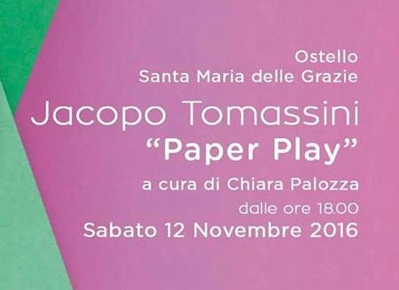 Paper Play Jacopo Tomassini