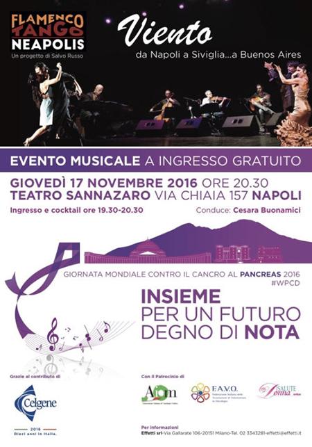 'Viento', Flamenco Tango Neapolis