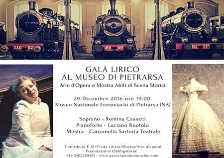 Gala lirico al Museo di Pietrarsa