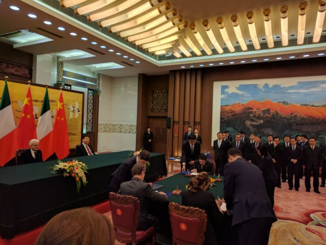 Business Forum Italia Cina intesa tra Regione Campania e Municipalità di Pechino