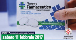Giornata di raccolta del farmaco: 11 febbraio