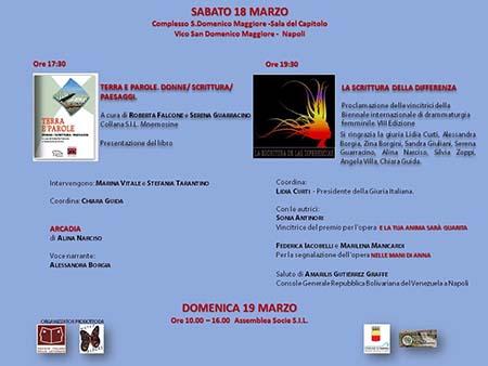 Biennale internazionale di drammaturgia femminile