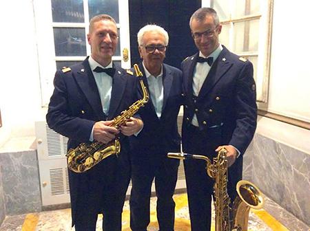 Sebastiano Ventriglia sax alto areonautica militare