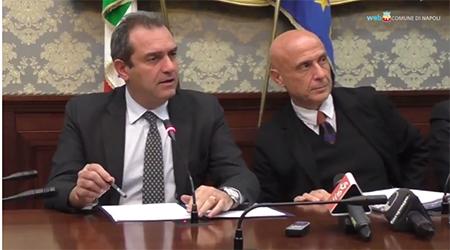 Luigi de Magistris Marco Minniti