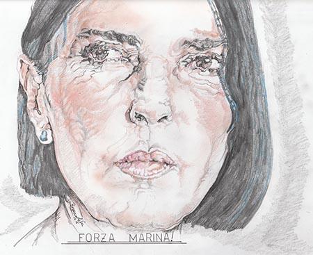 Nina Soldano Marina Giordano di Un Posto al Sole