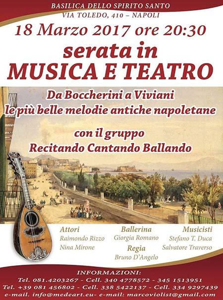Serata in Musica e Teatro'