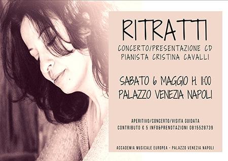'Ritratti' Cristina Cavalli