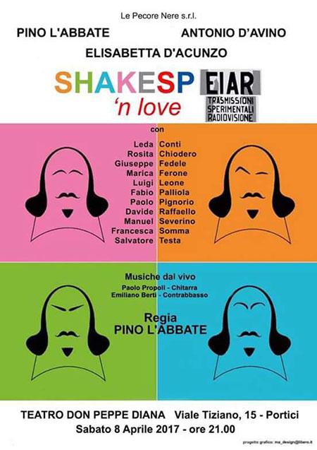 'Shakesp-eiar 'n' love'