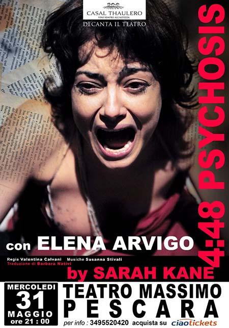 '4:48 Psychosis by Sarah Kane'