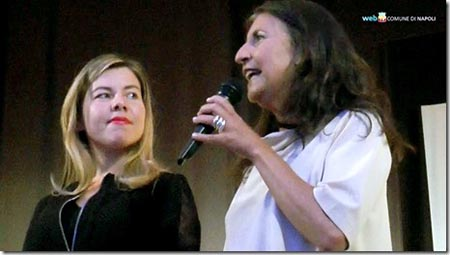 Alessandra Clemente e Annamaria Palmieri