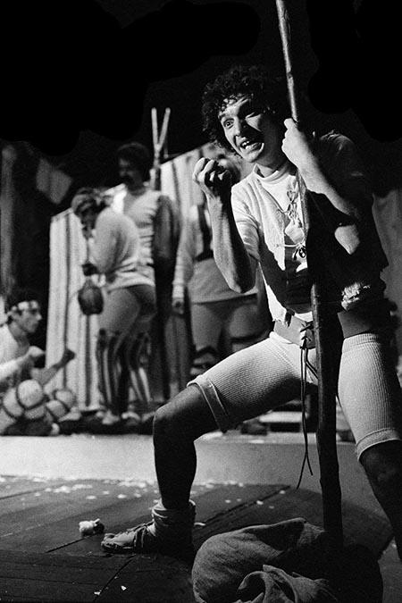 Le furberie di Scapino. 1976, Cesare Accetta