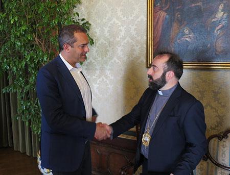 Luigi de Magistris e Armash Nalbandian