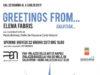 'Greetings from...', solo show di Elena Fabris