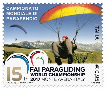 Avena 2017 francobollo