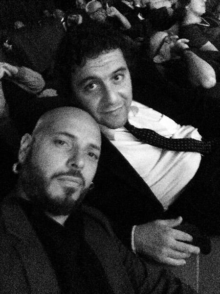 Danilo Rovani e Alessandro Derviso