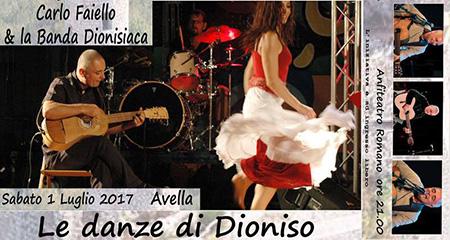 'Le danze di Dioniso'