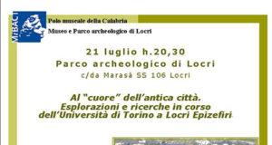 """Al """"cuore"""" dell'antica città. Esplorazioni e ricerche in corso dell'Università di Torino a Locri Epizefiri'"""