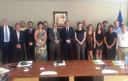 Raffaele Cattaneo con delegazione imprenditoriale dell'America latina