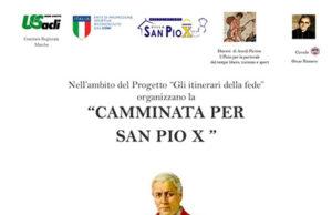 'Camminata per San Pio X'