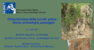'Chiacchieriamo della Locride antica. Storia, archeologia, paesaggio'