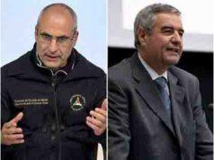 Fabrizio Curcio e Angelo Borrelli