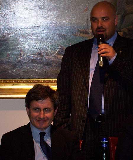 Gianni Alemanno e Rosario Lopa